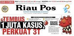 Tambahan Pasien Positif di Riau 129 Kasus, Sembuh 159