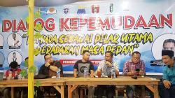 Cipayung Plus Riau Hadirkan Ngopi Bareng Aktivis Riau Bersama Asisten Staf Kepresidenan RI