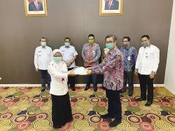 HUT Ke-54, Bank Riau Kepri Ikut Lawan Corona