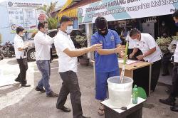BNNP Riau Musnahkan Sabu 1 Kg