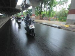Riding Perdana Yamaha Gear 125 Bersama Awak Media