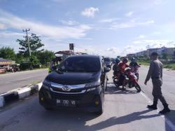 Arus Balik Lebaran, Jalur Masuk Kota Pekanbaru Diperketat