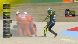 Kesalahan Aneh yang Membuat Rossi Celaka