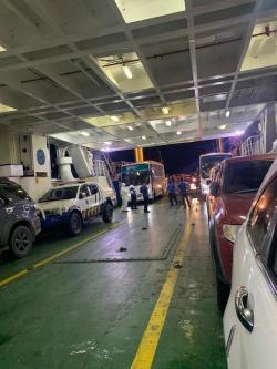 Viral Video Bus Bawa Penumpang Dugaan Corona di Roro Bengkalis, Ini Penjelasannya