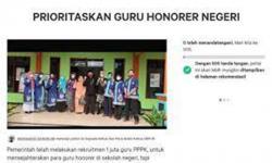 Beredar Petisi Prioritaskan Guru Honorer Negeri pada Tes PPPK Tahap II