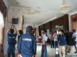 Ruang Pertemuan Rumah Dinas Ketua DPRD Terbakar