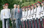 Presiden Jokowi Bahas Batam di Singapura