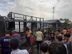 Dua Unit Rumah di Bagansiapiapi Ludes Dilahap si Jago Merah
