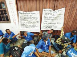 Karyawan PT Padasa Tuntut Didaftarkan BPJS