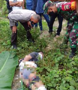 Mayat dengan Kaki dan Tangan Terikat Ditemukan di Tepi Jalan Lintas Bangkinang-Petapahan