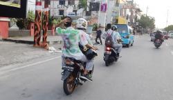 Aksi Corat-coret dan Konvoi di Jalanan Warnai Kelulusan Siswa