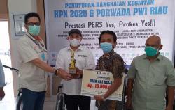 Redaktur Riaupos.co Juarai LKTJ Raja Ali Kelana 2020