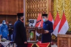 Wali Kota Dumai Lantik H Indra Gunawan sebagai Sekda