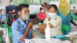 Kodim 0313/KPR Vaksinasi Pelajar dan Mahasiswa