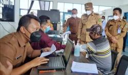 Pemda Meranti Berlakukan Wajib Vaksin Terhadap Calon Penumpang Pelabuhan Tj Harapan