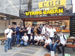 Dua Caketum BPD Hipmi Riau Silaturahmi ke BPC Rohil