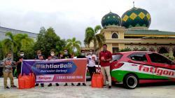 Ikhtiar Baik Fatigon Berbagi Takjil dan Sembako Bersama Brio Squad Riau