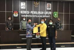 Paslon Said Hasyim dan Abdul Rauf Ditetapkan KPU Secara Tertutup