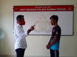 Maling, Oknum Pemuda Rumbai Pesisir Ditangkap Polisi
