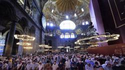 Sedih, 500 Jemaah di Hagia Sophia Positif Corona