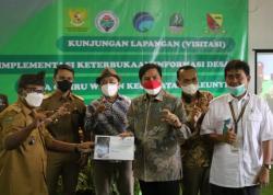Visitasi KIP, Inovasi Informatif Indikator Kemajuan Desa