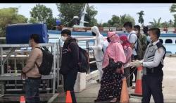 Meski Ada Penumpang Meninggal, Aktivitas Pelabuhan Sungai Duku Berjalan Normal