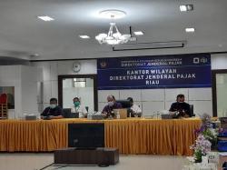Penerimaan Pajak Riau hingga Maret 2021 Capai Rp2,215 Triliun
