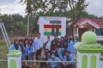 Tim KKN Unri Pasang Alat Monitoring Limbah Sawit di Kuansing