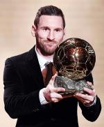 Lionel Messi Raih Ballon d'Or 2019
