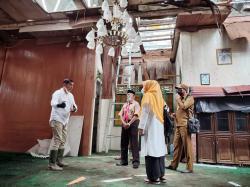 Kondisinya Menyedihkan, Bupati Janji Rehab Gedung LAMR Rangsang Barat