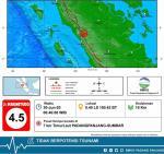 Padang Panjang Diguncang Gempa Magnitudo 4,5 di Penghujung Juni