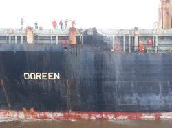 Kapal Kargo Berbendera Panama Terbakar di Perairan Selat Bengkalis