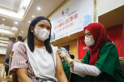 Vaksinasi Kedua 107.314 Warga Terlambat 2 Pekan