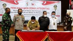 Pemkab Teken Komitmen Wilayah Bebas Korupsi
