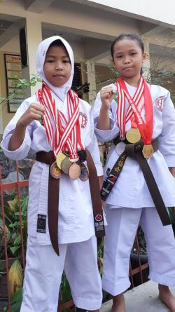 Dua Atlet Shindoka Riau Ikuti APSKF di Kazakhstan