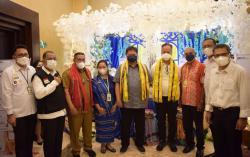 Di Ambon, Airlangga Dorong KUR Sektor Pertanian dan Perikanan