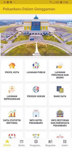 Aplikasi Pekanbaru Dalam Genggaman Diluncurkan
