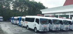 Pendistribusian 15 Unit Ambulans Tunggu STNK