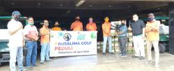 Golfers Nusalima Golf Serahkan Bantuan Sembako untuk Caddy