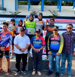 Atlet Sepeda Rohil Raih Juara di Sumsel