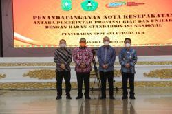 BSN RI dan Unilak Bermitra Wujudkan Standarisasi Produk di Riau