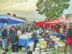 Pasar Kaget Marak, Pasar Resmi Mati Suri