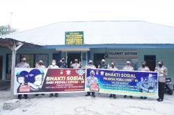 Ratusan Sembako dan Masker Dibagikan ke Panti Asuhan