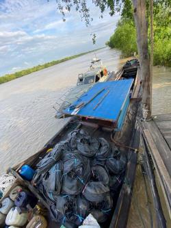 Bea Cukai Riau Tangkap Dua Kapal Penyeludup dari Malaysia
