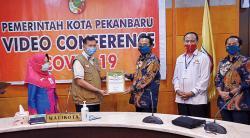 PT PJB UBJOM PLTU Tenayan Terima Piagam Penghargaan CSR dari Wali Kota Pekanbaru