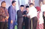 Pemkab Terima Penghargaan dari Pangdam I/Bukit Barisan
