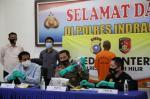 Gerebek Narkoba, Dua Polisi Terluka Terkena Badik, Pelaku Tewas