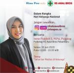 Sehat Bermedsos di Keluarga? Yuk Tanya-Tanya Spesialisnya di Live Instagram Riau Pos dan RS Awal Bros
