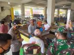 Kapolres Inhu Tegur Pedagang dan Pengunjung Pasar