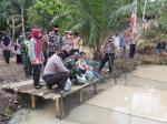 Kapolsek Faizal Ramzani Launching Kampung Tangguh Nusantara di Tualang